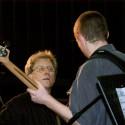 Scott with Bass Student Charles Jones